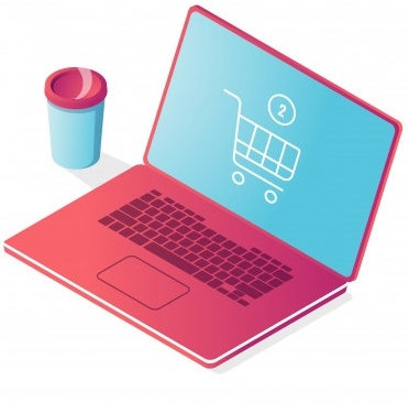 online-shop-isometric-icon-laptop-with-shopping-basket-order-purchase_39422-1009